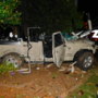 Jeep crashes into building, killing one passenger
