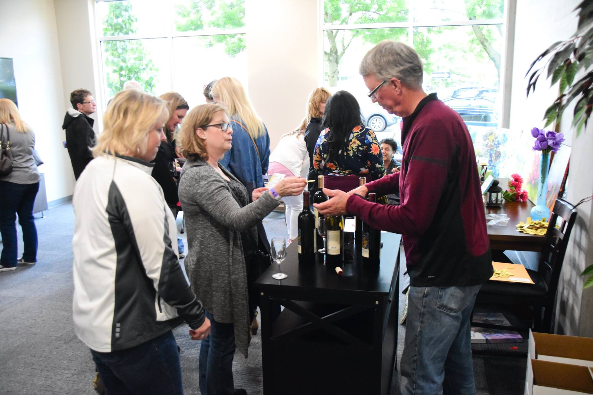 Don't miss the Renton Wine Walk on Friday, June 7, 2019, from 6 p.m. to 9 p.m. Tickets for the Renton Wine Walk are $25 in advance and $30 at the event (if not sold out). (Photo courtesy of Renton Downtown Partnership)