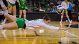 Oregon volleyball: Senior Night