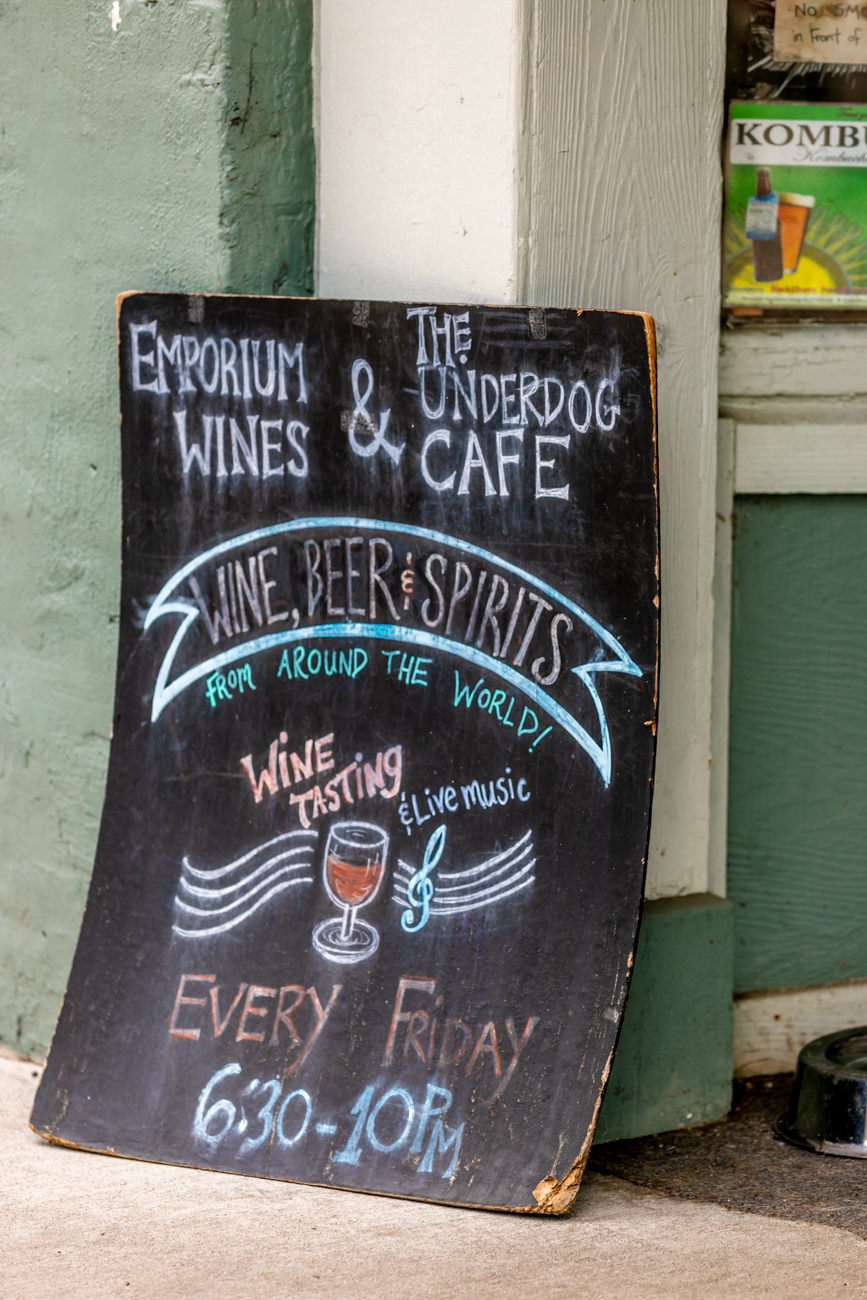 Emporium Wines and The Underdog Cafe / Image: Amy Elisabeth Spasoff // Published: 8.10.18