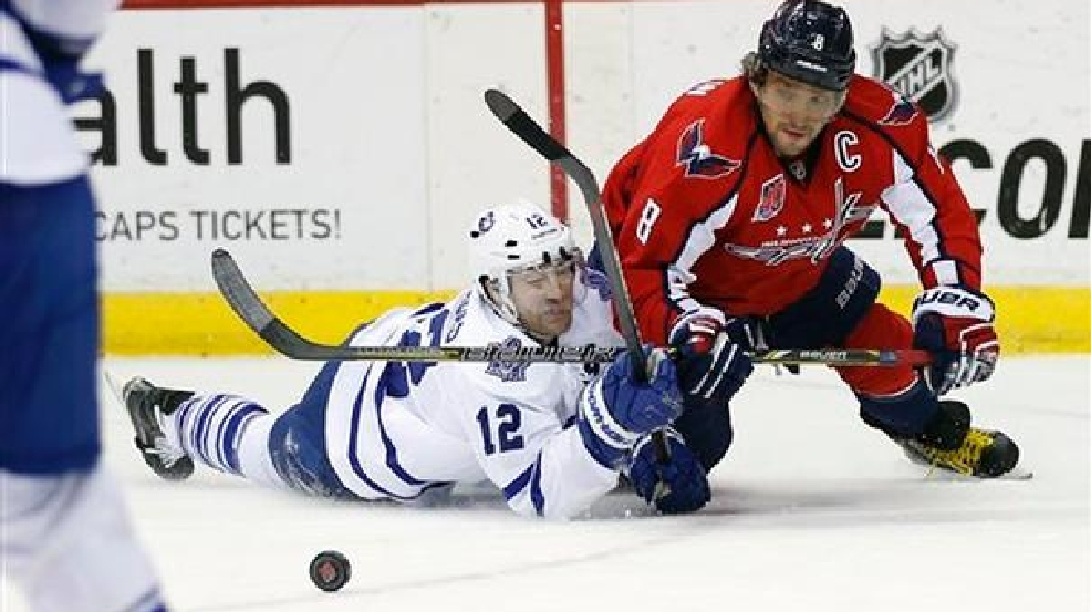 Ovechkin scores twice as Capitals blank Maple Leafs 4-0  52bb832ef88