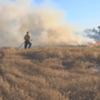 Terrace Heights brush fire spreads rapidly through acres of land