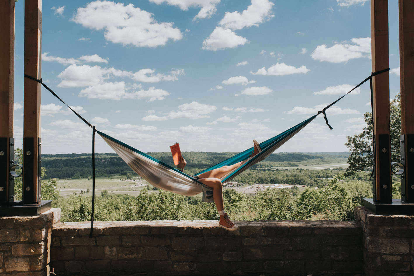Find two sturdy trees, throw up your hammock, and chill with a book or a nap. The choice is yours. / Location: Ault Park / Address: 5090 Observatory Avenue (45208) / Image: Brianna Long // Published: 6.14.17