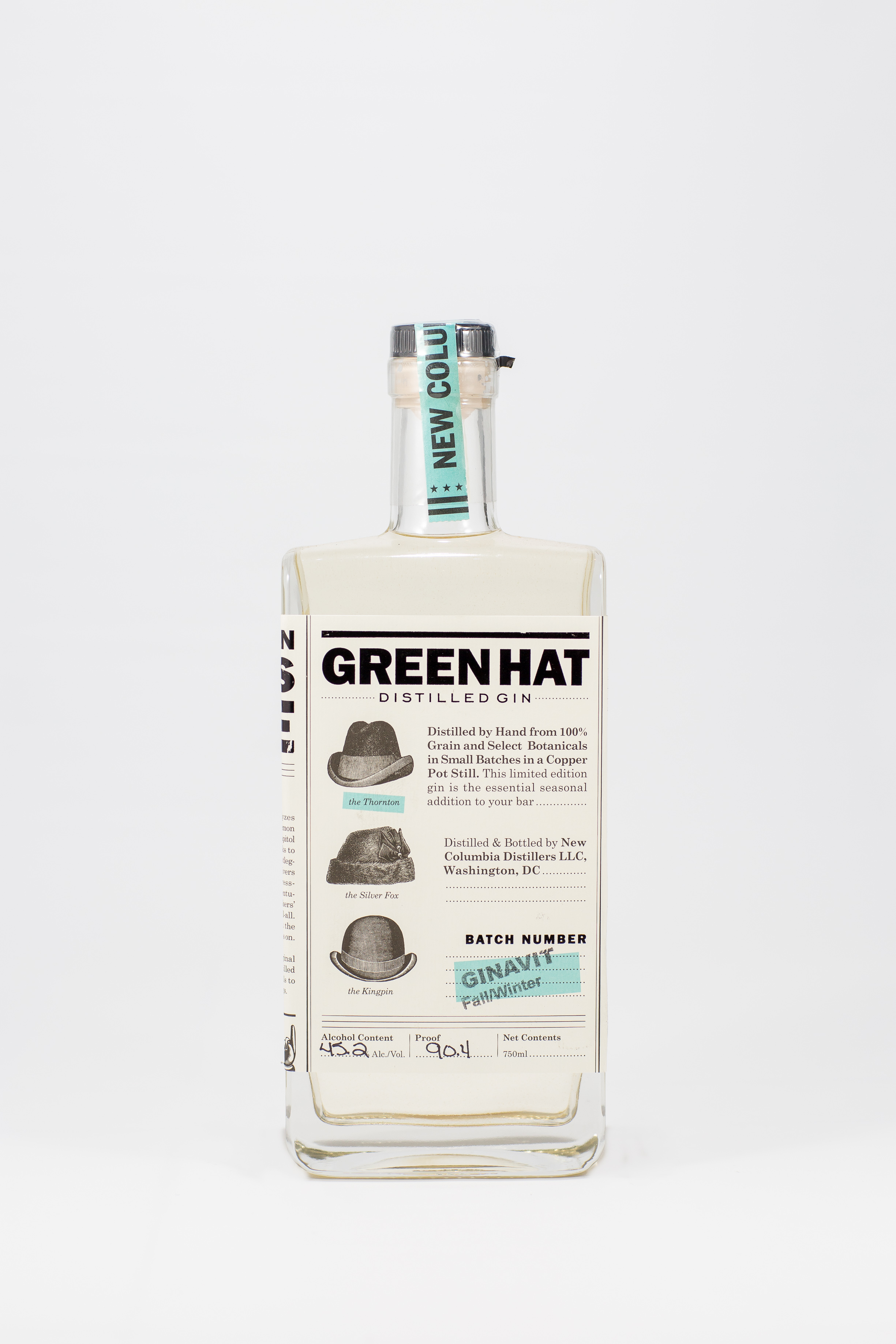 Fall/Winter Ginavit from Green Hat Gin // Price: $36-$38 // Buy at the distillery or at local retailers such as Cordial Craft Wine, Beer & Spirits // www.greenhatgin.com // (Image: Green Hat Gin)