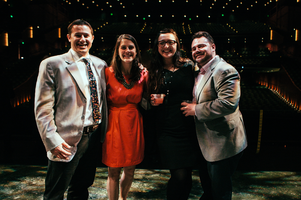The annual Pacific Northwest Ballet's Midsummer Mischief Bash brings fans and attendees together to party the night away with Company dancers. All funds from ticket sales went towards PNB.  Last year over 300 people attended, and the Ballet raised $5,000. (Joshua Lewis / Seattle Refined)