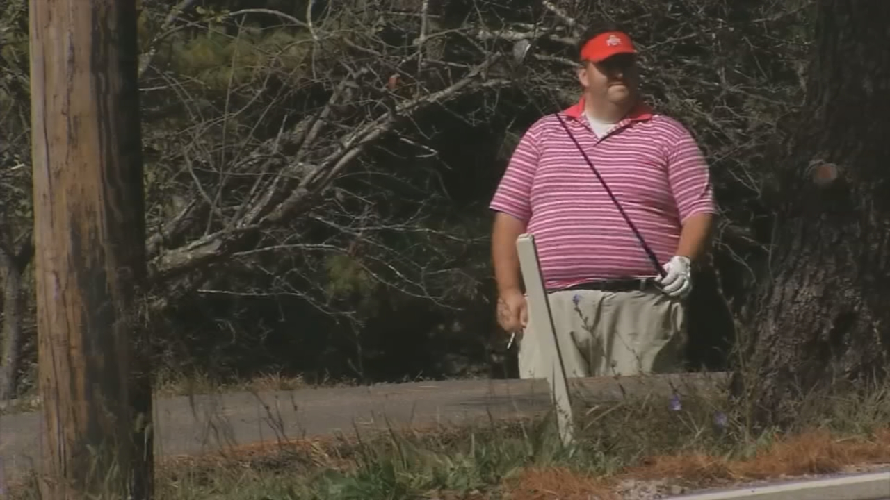 Athens County Prosecutor Keller Blackburn seen on a Thursday afternoon at the golf course. (WSYX/WTTE)