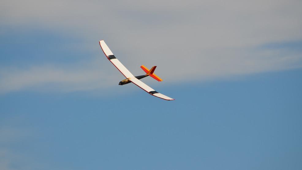 Glider pilots practice taking off in Logan