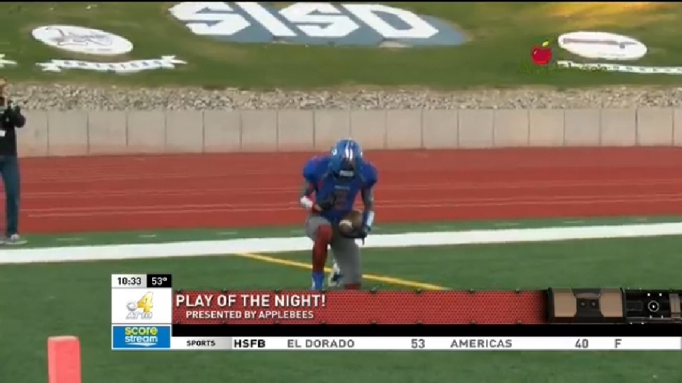 Play of the Night: Pass to Nate Carrasco at Americas game