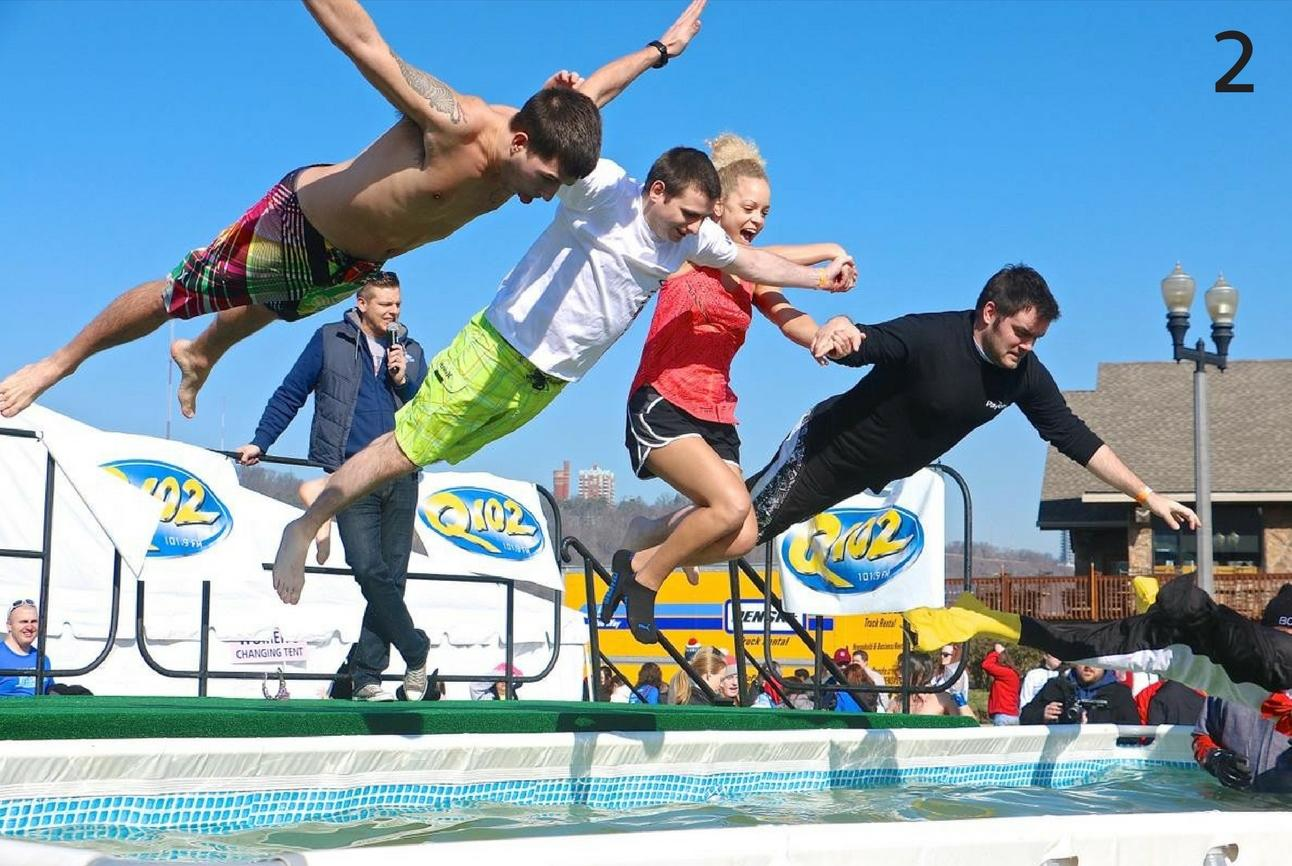 "#2 - Hotel Covington is hosting a ""polar plunge"" on Saturday, Jan. 28 at 5pm. / Image: Dr. Richard Sanders"