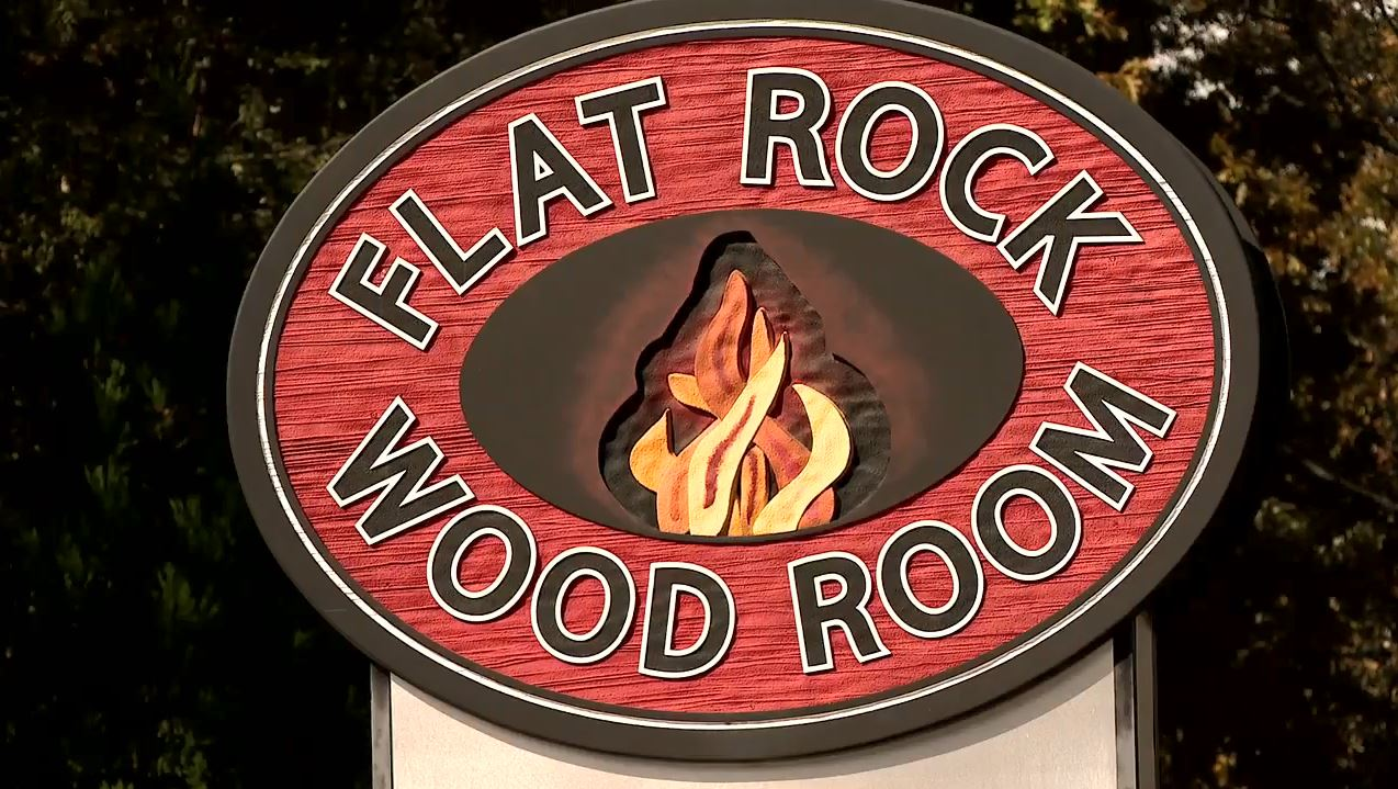Flat Rock Wood Room in Henderson County (Photo credit: WLOS Staff)