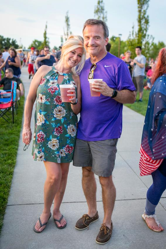 Mary Pfeil and Rick Diamond{ }/ Image: Mike Bresnen Photography // Published: 7.5.18