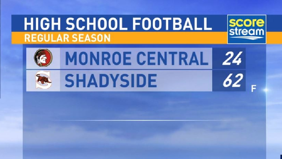 9.2.16 Highlights: Monroe Central at Shadyside