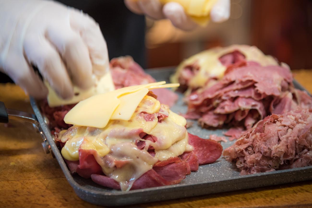 Izzy S The Popular Cincinnati Eatery Is Famous For Its Corned Beef Reuben Sandwich