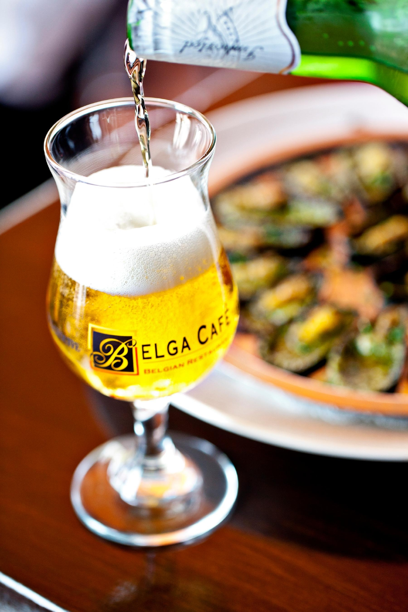 Greg Engert, of the recently opened Belgian beer den The Sovereign in Georgetown, talks myths, favorite bottles and pairing advice for Belgian beers. Three of his fav spots to try Belgians? The Sovereign (not surprisingly!), Belga Cafe and Brasserie Beck. (Image: Courtesy Belga Cafe)