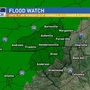 "Flood Watch: Weekend rain totals could top 4"" in some areas"