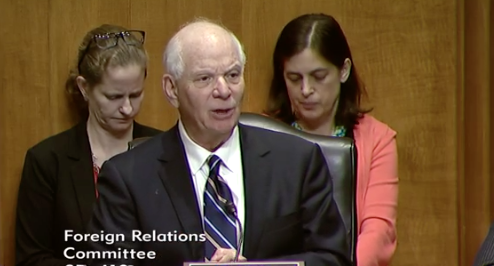 Ranking Member of the Committee Senator Ben Cardin, D-M.d. / Photo: Senate Foreign Relations Committee