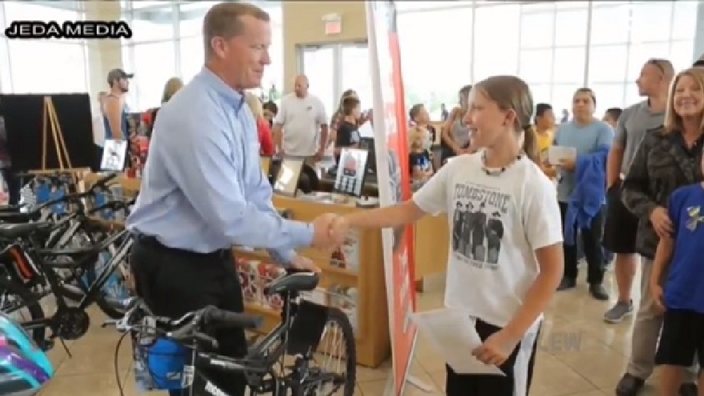 114 students earn bikes from rogers perfect attendance Rogers motors lewiston idaho
