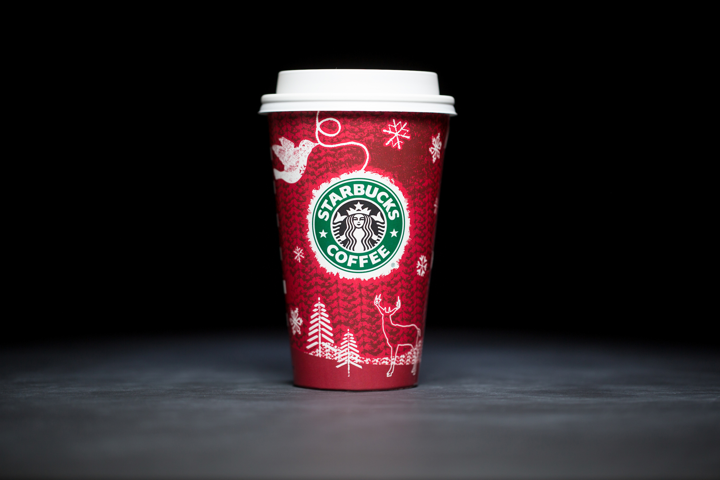 2008: For 20 years, Starbucks have released a range of holiday cup designs, most of them based around their world famous red cup. It's not easy to find the very first Starbucks holiday cups, which made their debut in stores in 1997. Few were saved, and electronic design files were lost in an earthquake in 2001. Even an Internet search is unyielding, with the cups having made their arrival long before the first selfie. But, we have them here! Click on for a photos of all 20 holidays cup designs. (Image: Joshua Trujillo/Cover Images)