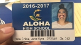 Oregon teen's creative school ID picture going viral