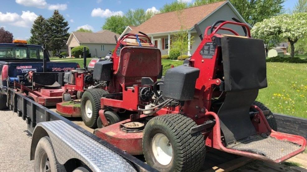 Lawn care businesses stretched thin with high gas prices   WEYI