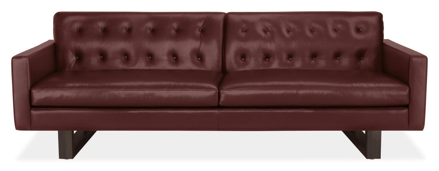 This luxe-looking couch is being discontinued, but it retails for $4,099.{&nbsp;} (Image courtesy of Room & Board)<p></p>