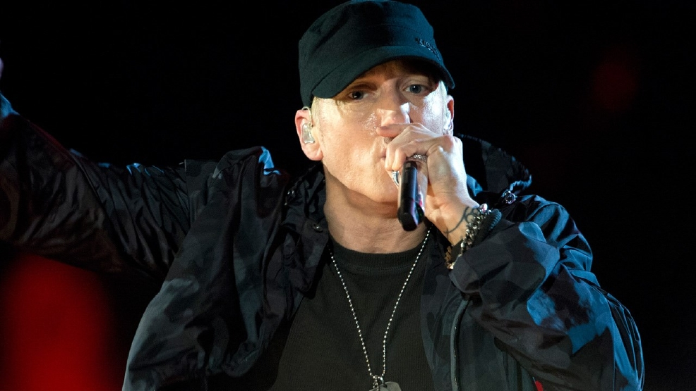 Eminem pens election song slamming Trump: 'You should be afraid of this dang candidate'