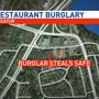 Police searching for person who stole safe from Decatur restaurant