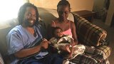Mother throws baby to father as Elkhart family escapes fire