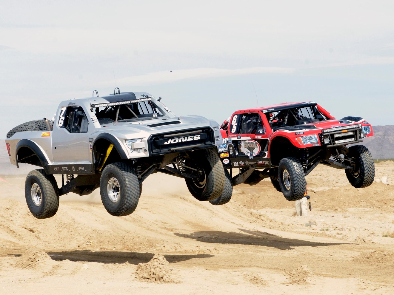 Mint 400 Off-road Race in Primm, Nevada. Saturday, March 4, 2017.  [Glenn Pinkerton/Las Vegas News Bureau]