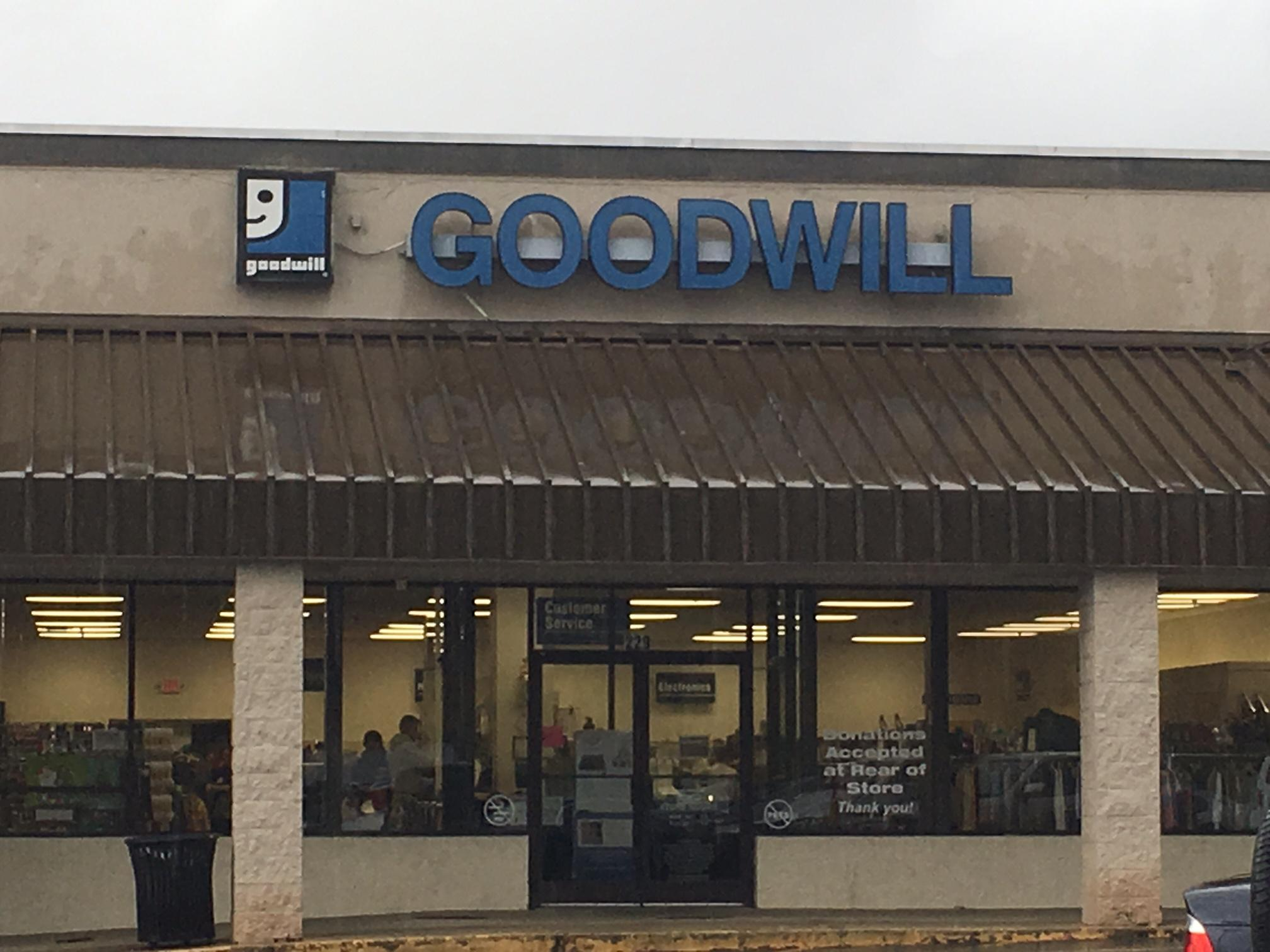 The shelves at mountain Goodwill stores are full. Goodwill leaders say it's a combination of end-of-year donations and people in the holiday spirit. (Photo credit: WLOS Staff)