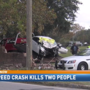 Two people dead after high-speed crash