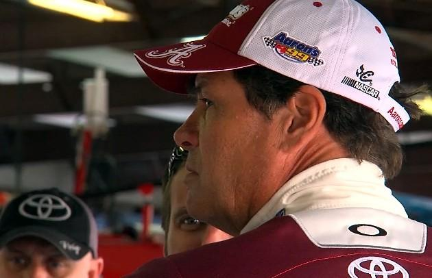 Sprint Cup driver Michael Waltrip.