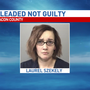 Mother accused of breaking child's leg pleads not guilty