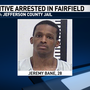 Fairfield PD: Indiana fugitive made death threats