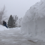 Heavy snowfall in Door County keep people and crews busy