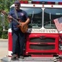 Johnston firefighter salutes USA with rockin' tribute