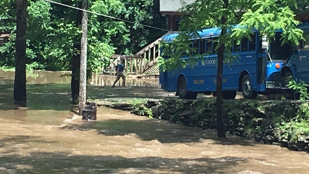 High water impacts operations at nantahala outdoor center for The cabins at nantahala
