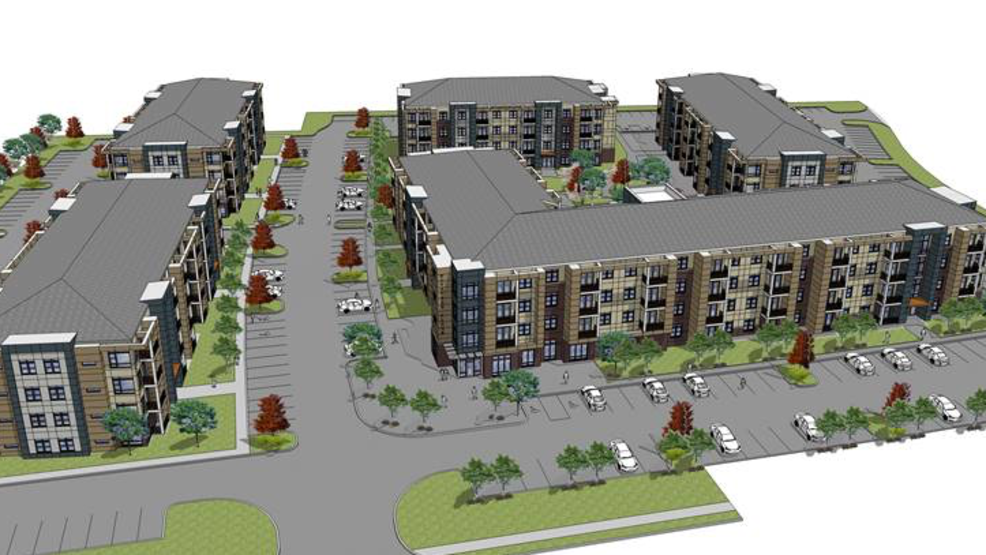230 unit luxury apartment complex underway in brooklyn park wbff