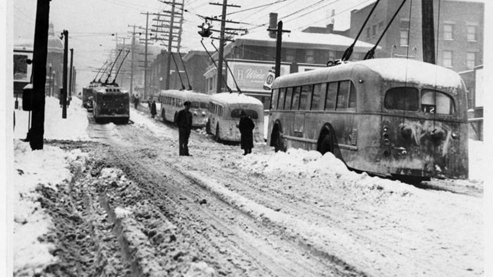 Friday the 13th Snowstorm in January, 1950 still rates as Sea-Tac's snowiest day