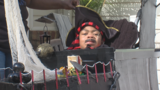 Grandma helps teen with rare disease dress up for Halloween