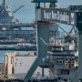 Trump to visit shipyard amid talk of defense spending hike