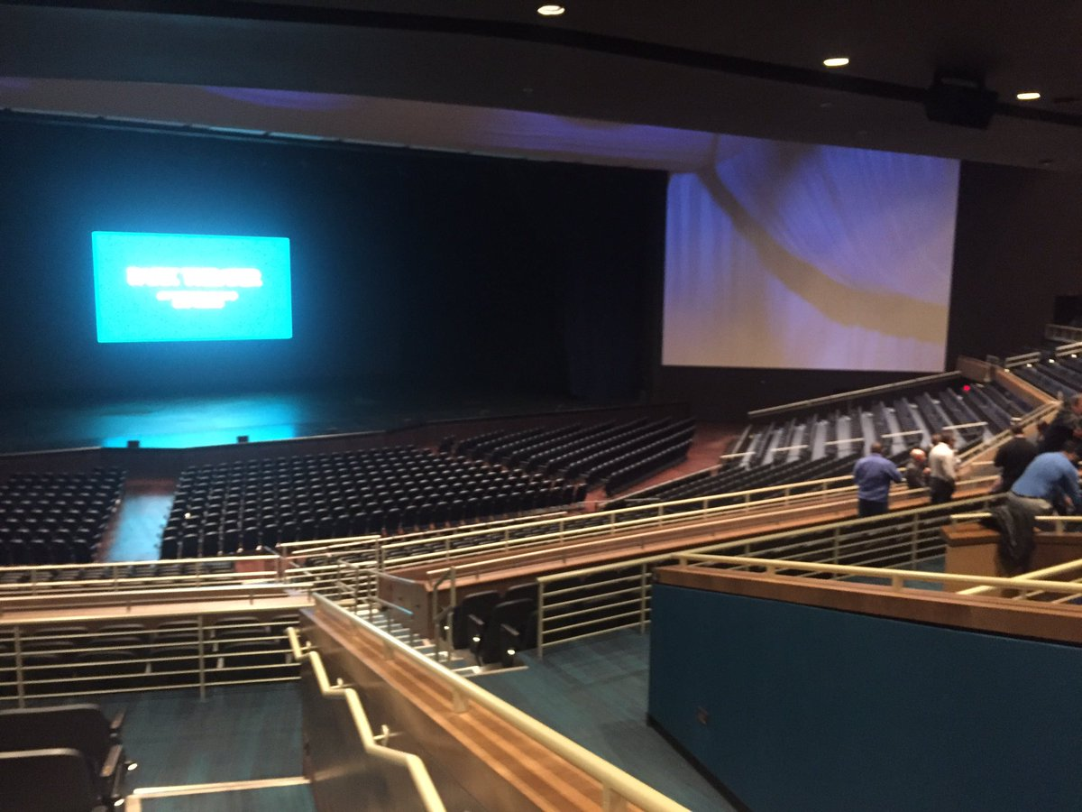 You'll be able to step inside Park Theatre for the first time on 12/17 where Stevie Nicks will take the stage. 12/6/16 (Faith Jessie | KSNV)
