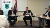 Public health officials discuss threats with Governor Nixon
