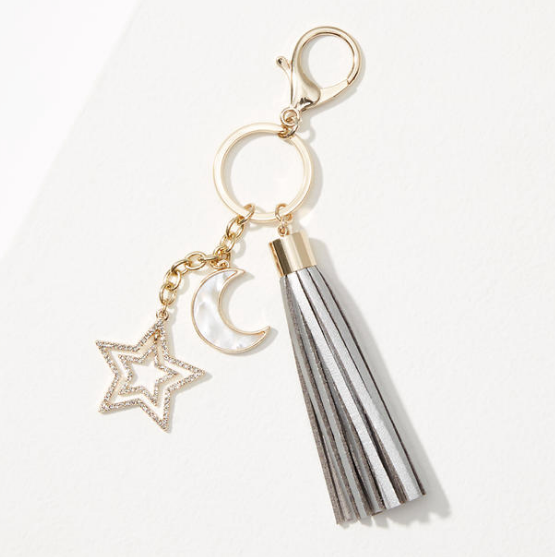 The LOFT Star Tassel Keychain // Price: $19.50 // (The LOFT)<p></p>