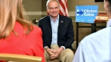 AP Interview: Kaine already reaching out to GOP
