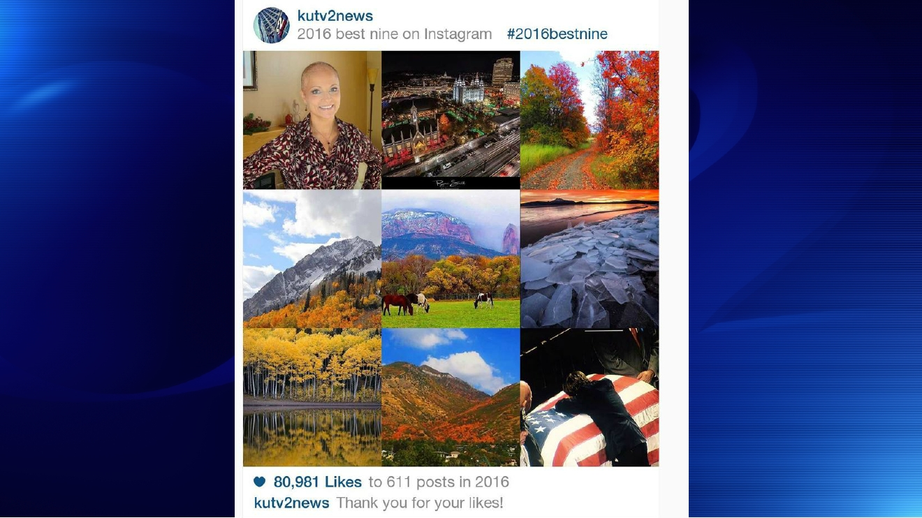 Here's how to create your own 'Best Nine of 2016' Instagram collage. (Photo: KUTV)