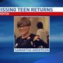 Missing Riverton teen now home