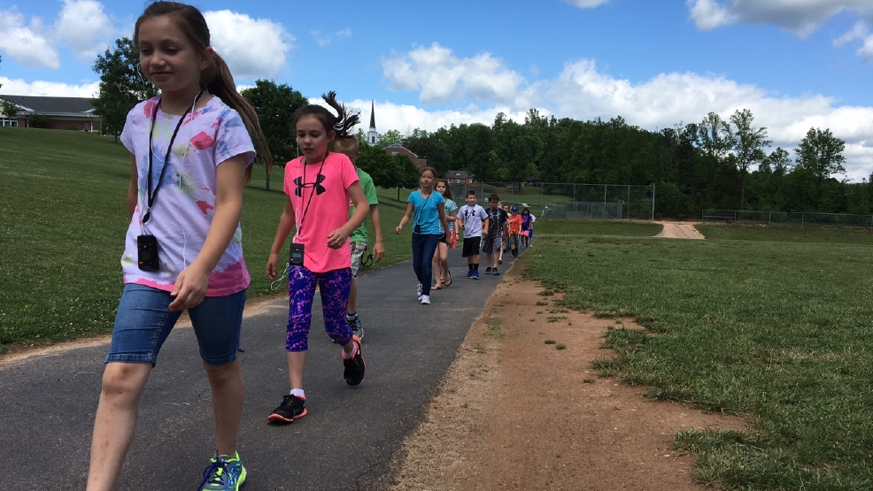 Never stop learning walking classroom wlos - Pleasant garden elementary school ...