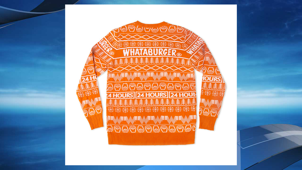 Whataburger Selling Its Own Version Of An Ugly Christmas Sweater
