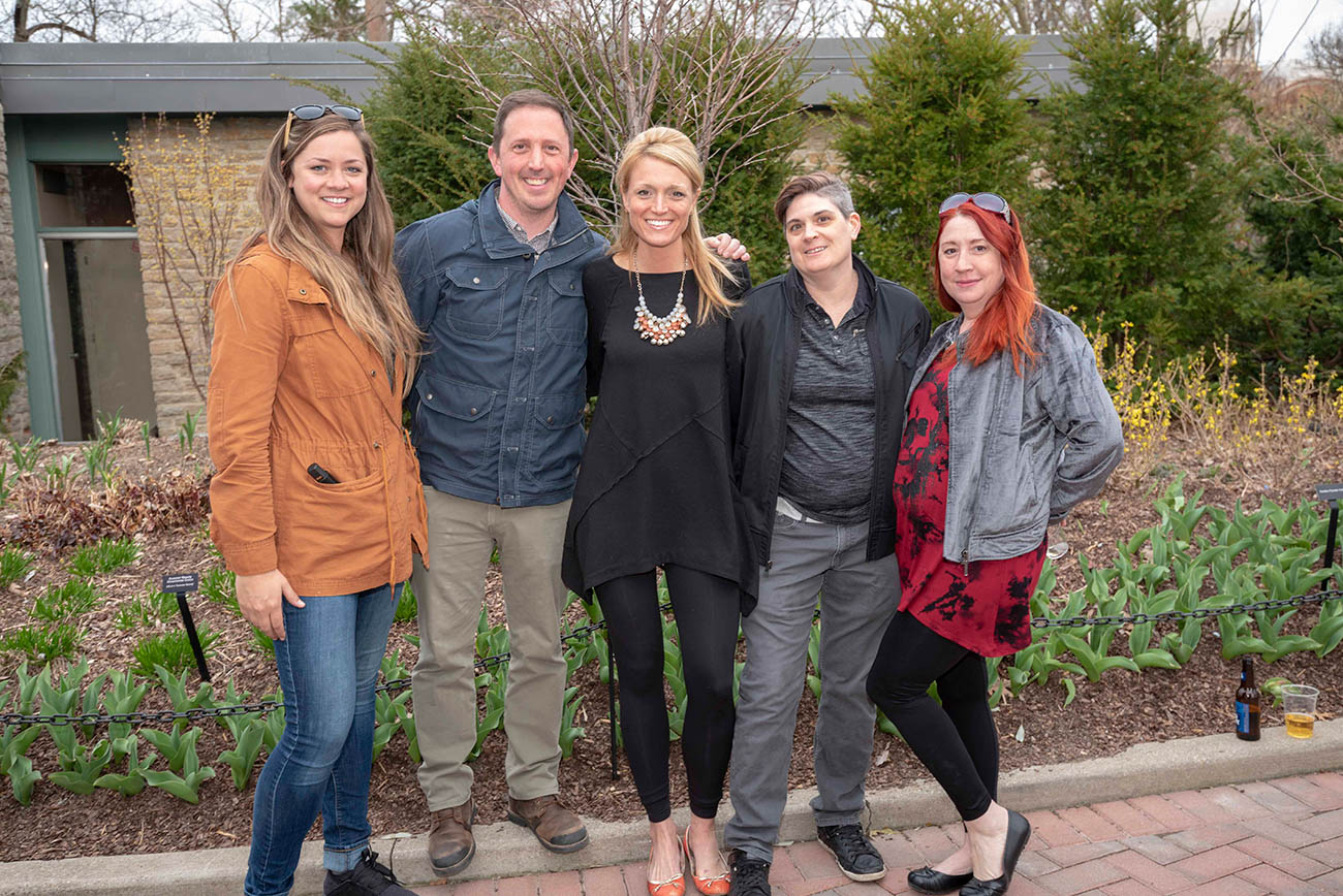Kim, Greg, Emily, Angie and Nikki{ }/ Image: Joe Simon // Published: 4.5.19